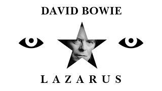 David Bowie - Lazarus (Lyrics   Lyric Video) [6' Long Album Version]