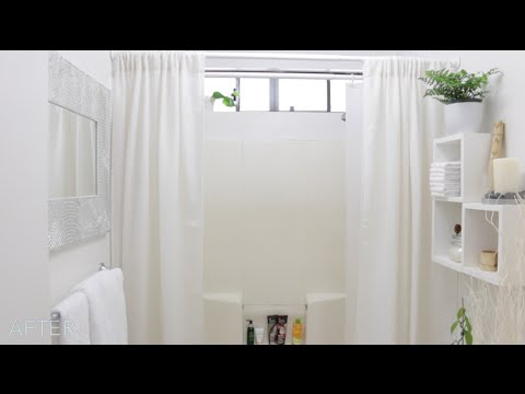 Small Bathroom Makeover: Zen Inspired Decor Ideas   YouTube