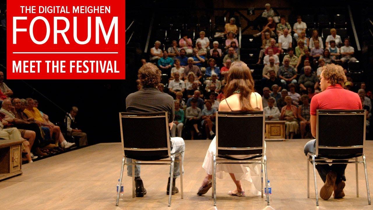 The Digital Meighen Forum | Meet the Festival ft. Trish Lindström and André Sills