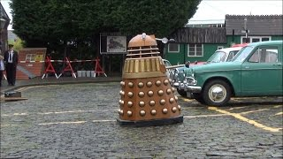 Daleks may conquer the Universe, but struggle with cobbles!!!!