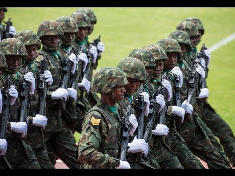 MILITARY PARADE AT KAGAME INAUGURATION