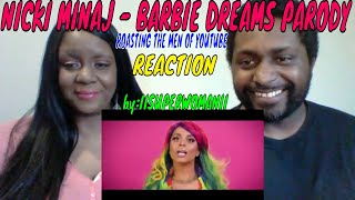 IISuperwomanII - Nicki Minaj - Barbie Dreams Parody (Roasting the Men of YouTube) REACTION