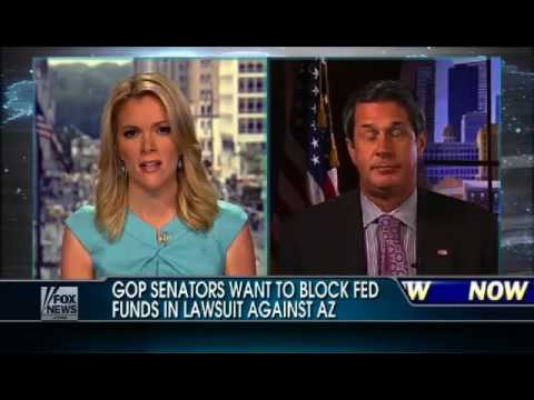 Senator David Vitter Discusses His Effort to Block Federal Lawsuit Against Arizona Immigration Law
