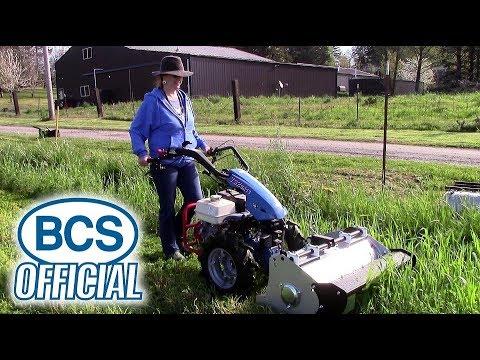 BCS Rollerblade Flail Mower
