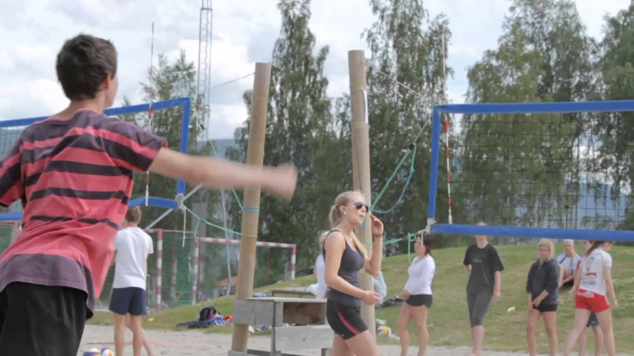 Volleyboll dag for 1