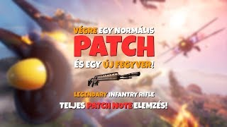 FINALLY A GOOD PATCH AND A NEW WEAPON!   Legendary Infantry Rifle! (Fortnite Battle Royale)