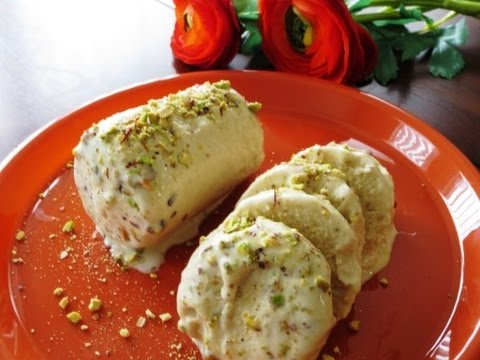 Ultra Quick And Easy Kesar Pista Kulfi (No Cook Recipe, Without Using Cream)| Poonam's Kitchen