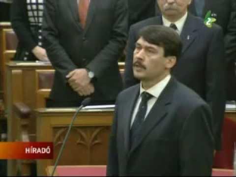 Áder János Magyarország új elnöke