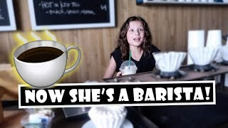 Now She's a Barista! ☕ (WK 393)   Bratayley