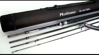 обзор спиннинга Mottomo Compacto MCMS-794ML 240см/5-25g. Для путешествий и не только