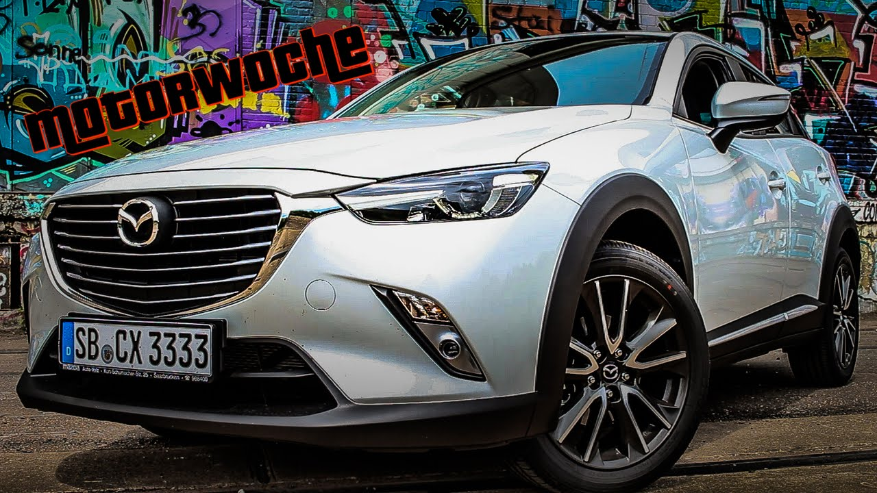 motorwoche | mazda cx-3 | test | german - youtube