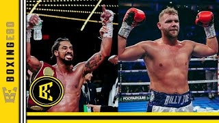 DEMETRIUS ANDRADE CHECKS DAZN REP CALLS BLUFF ON BILLY JOE SAUNDERS WANTING TO FIGHT HIM