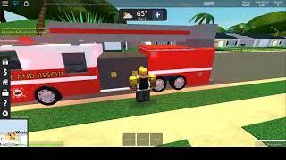 EMT/FIREFIGHTER RP! Roblox UDU.