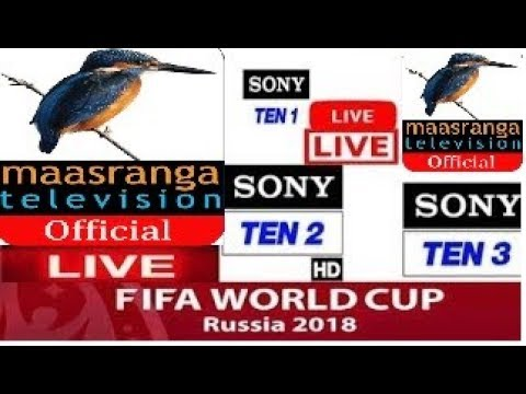 🔴Maasranga TV Live Stream with Live Sony Ten 2 || live fifa