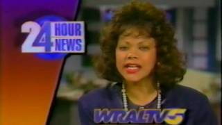 WRAL TV 5 News Update with Pam Saulsby, November 1991