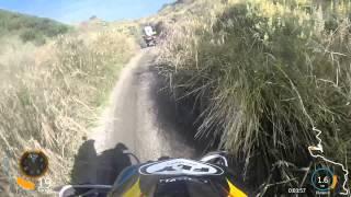 Foxton Beach quad ride - Crash