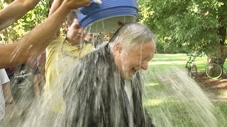 #IceBucketChallenge with President Brooks Keel