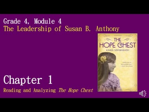 M4 U2 The Hope Chest: Chapter 1