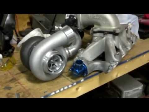 Turbotrap: 347 assembly progress, 1995 GT