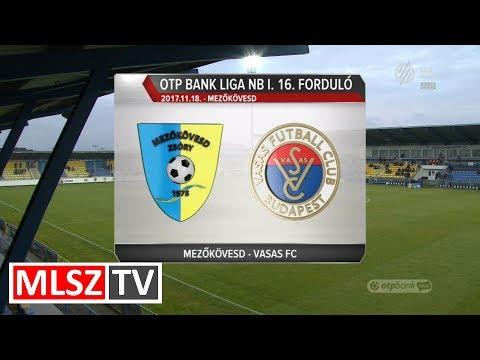 Mezőkövesd Zsóry FC - Vasas FC | 3-3 | OTP Bank Liga | 16. forduló | MLSZTV