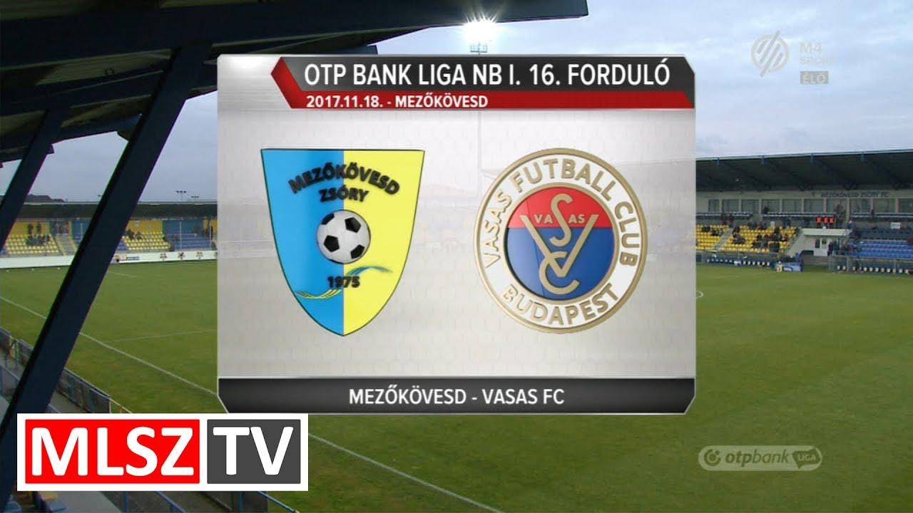 Mezőkövesd Zsóry FC- Vasas FC| 3-3 (1-1) | OTP Bank Liga | 16. forduló | 2017/2018 | MLSZTV