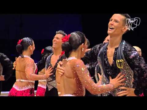 Grün-Gold-Club Bremen GER   World Formation Latin  DanceSport Total