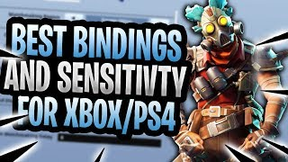 BEST Sensitivity And Custom Binds For CONSOLE Fortnite! (BEST SETTINGS)