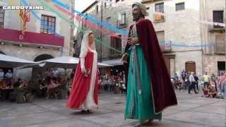 Besalú Festa Major 2012 Ball dels Gegants de Besalú