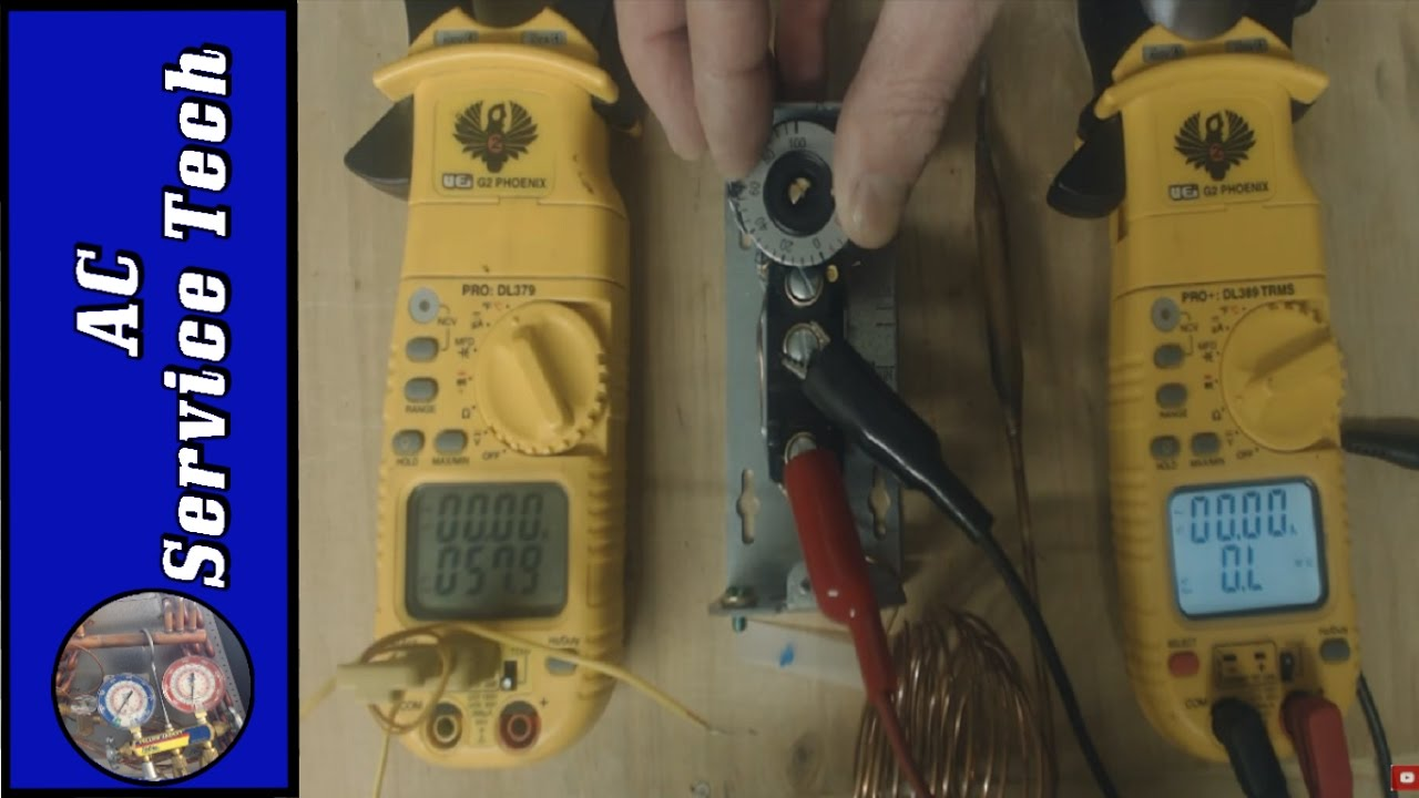 Remote Bulb Temperature Control Spdt Thermostat Testing Adjusting Hgf And Troubleshooting