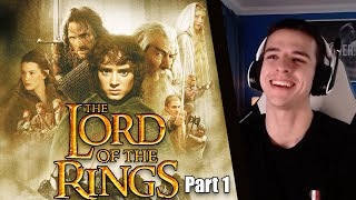 The Lord of the Rings: The fellowship of the Ring (EXTENDED) First time watching! Part 1