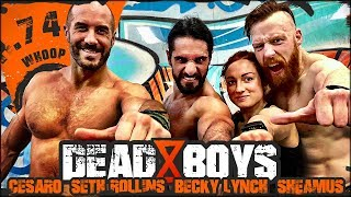 Download Seth Rollins, Becky Lynch & Cesaro | Ep.74 Deadboys Do Whoop Mp3 and Videos