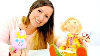 Делаем игрушку из носка: Видео для детей