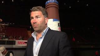 "Eddie Hearn ""Sad"" Reaction To Maidana comeback fail"
