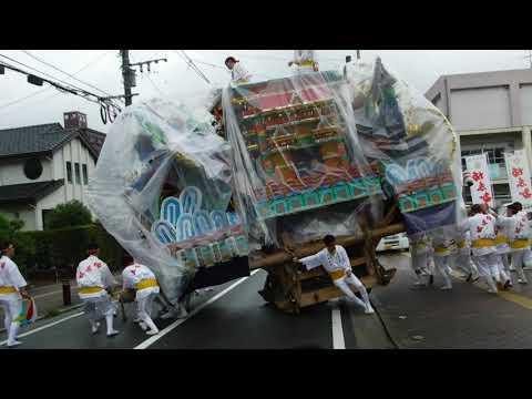 2019前田祇園二番山笠 飾り山出陣