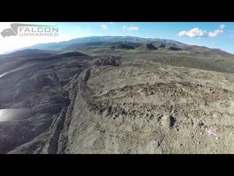 140526 Mesa County Landslide Flyover Falcon Hover