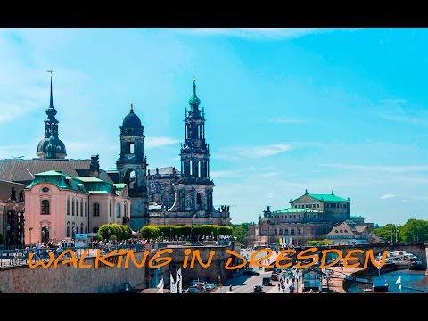 Walking in Dresden