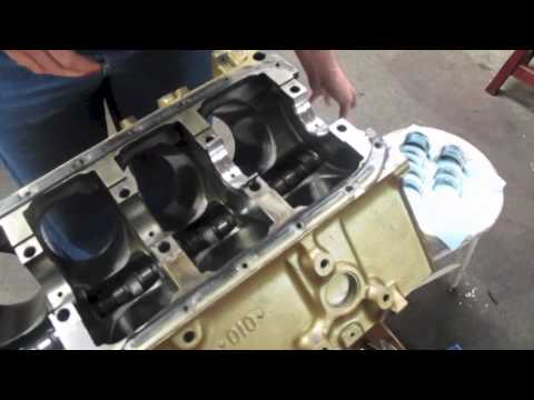 Replacing Engine Main Bearings DIY - YouTube