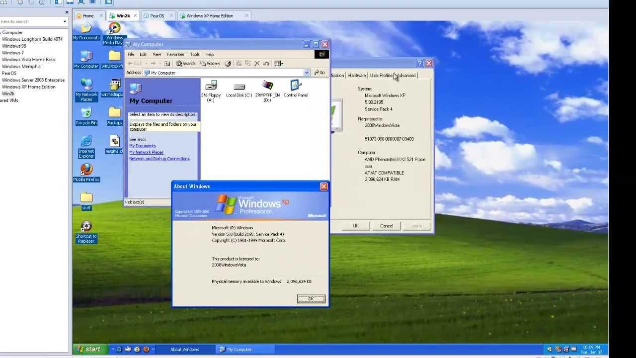 Windows 2000 REtransformed into Windows XP (and how I did ...