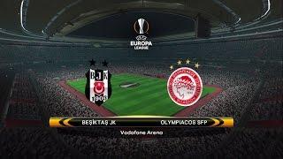 PES 2017/Patch 5.0/ UEFA Europa League /Round of 16 / 2st leg/ Besiktas - Olympiakos (Vodafon Arena)