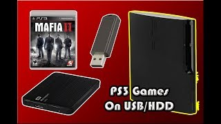 Easy Way To Copy PS3 backup Games On USB Or External HDD and Runing Guide (PS3 CFW)