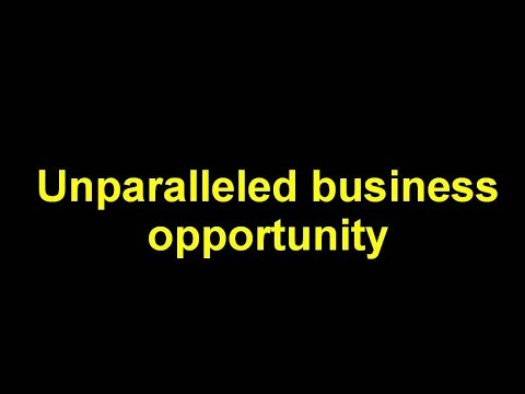 English business opportunity 2018