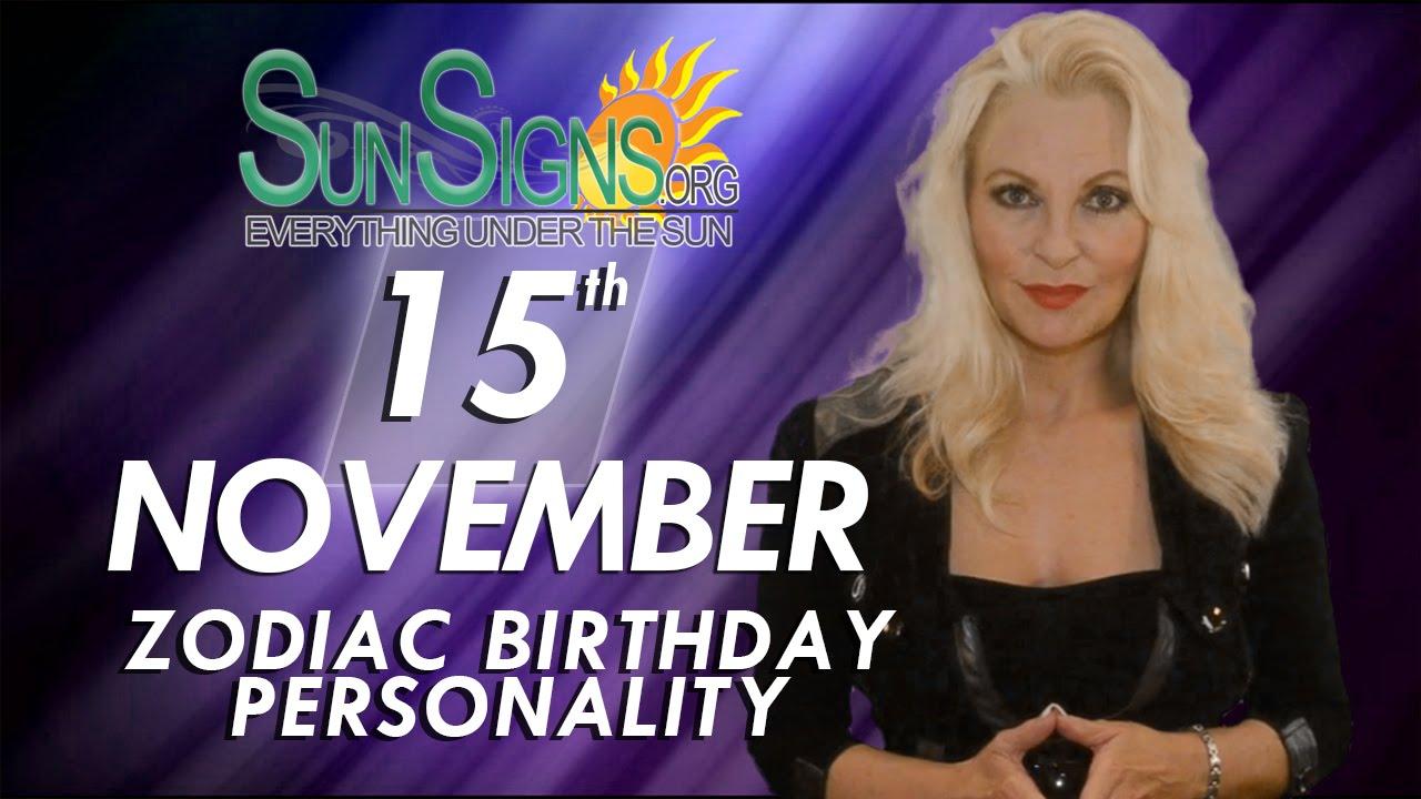 15 november what horoscope