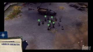 Codename: Panzers: Cold War PC Games Gameplay - NATO Units