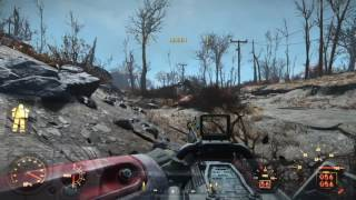 Fallout 4 Random Encounter Two Alpha Deathclaws Fighting