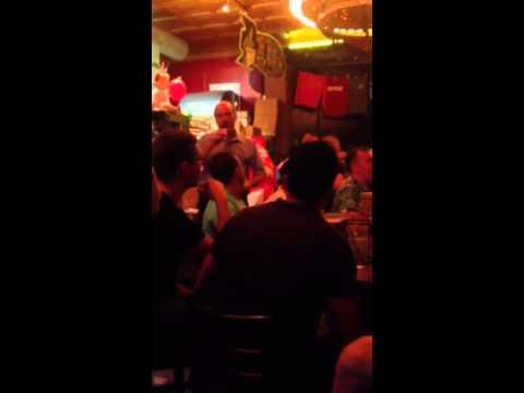 Old Man Sings Karaoke