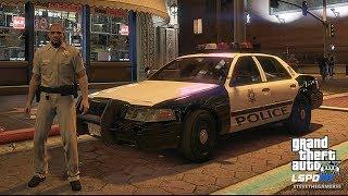 LSPDFR #497 LSMPD!! (GTA 5 REAL LIFE POLICE PC MOD) VEGAS NIGHT