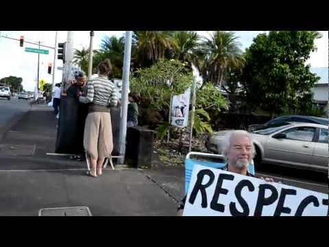 Occupy HELCO 4/30/12 Hilo, Hawaii