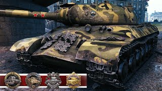 IS-3A - RAREST MEDALS HUNTER - World of Tanks Gameplay