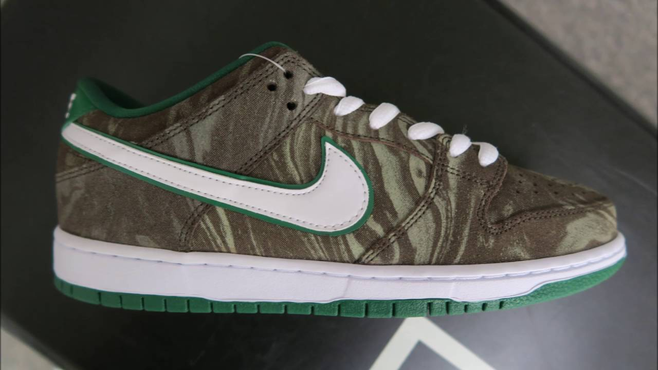 fa14c15a8dc7 Nike SB Dunk Low Starbuck Sneaker Detailed Look - YouTube