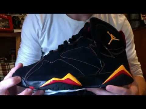 c7d3487da6b ... new zealand air jordan 7 citrus review youtube 30400 2af45 closeout nike  air jordan 7 vii retro black citrus varsity red shoes ...